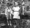 Otto Rubner se sestrou Annou